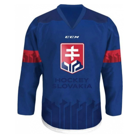 CCM FANDRES HOCKEY SLOVAKIA modrá - Dětský hokejový dres