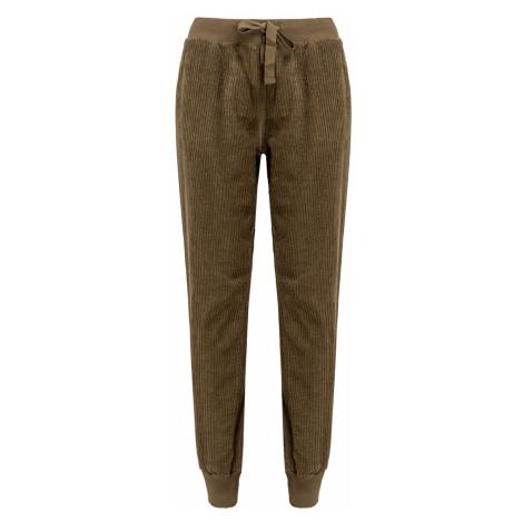 Kalhoty Deha EASY hnědá|zelená