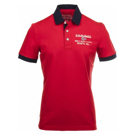 Napapijri pánské polo tričko červené NA12