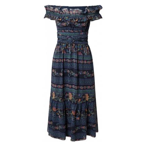 Hope & Ivy Koktejlové šaty 'THE ADALENE' mix barev / tmavě modrá Hope and Ivy