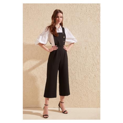 Trendyol Black button Detailed jumpsuit