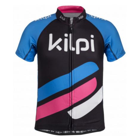 KILPI Dívčí cyklistický dres CORRIDOR-JG IJ0664KIBLU Modrá