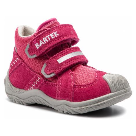 Kotníková obuv BARTEK - 31937/0Z8 Růžová