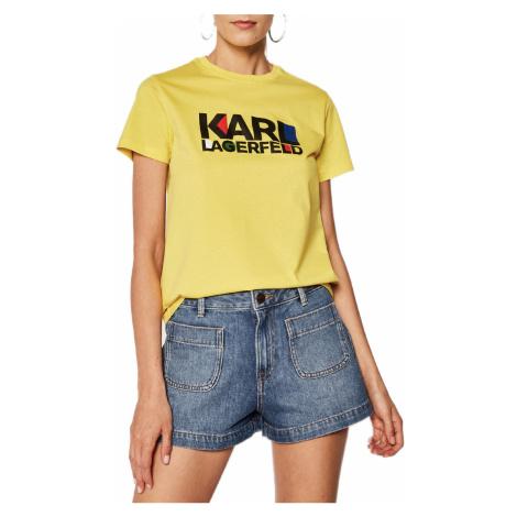 Žluté tričko - KARL LAGERFELD