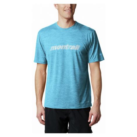 Tričko Columbia Montrail Trinity Trail™ Graphic Tee - modrá
