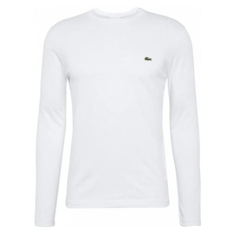 LACOSTE Tričko bílá