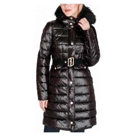 Černý zimní kabát LIU JO