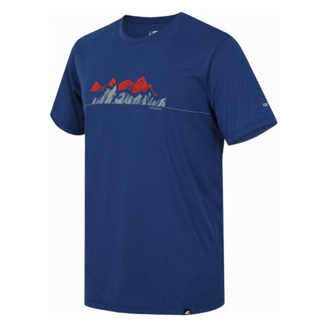 HANNAH BITE Pánské tričko 10001608HHX01 Moroccan blue