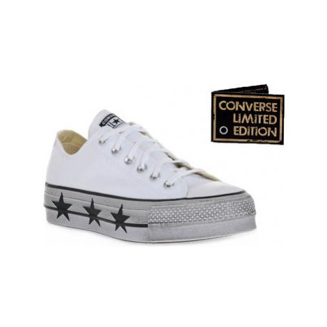 Converse ALL STAR LIFT CANVAS LTD WHITE STAS Bílá