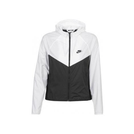 Nike W NSW WR JKT Bílá