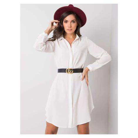 Košilové šaty RUE PARIS Ecru