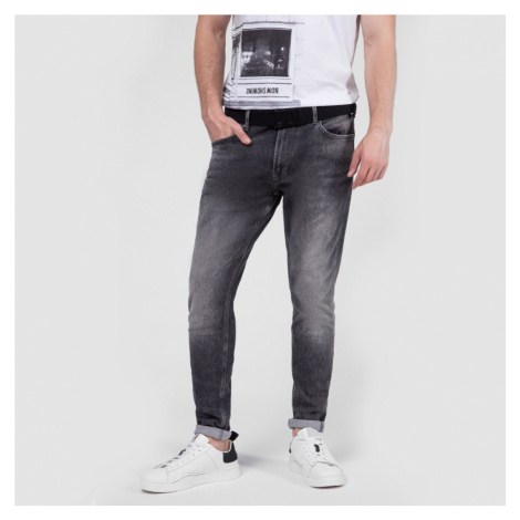 Pepe Jeans pánské šedé džíny Smith