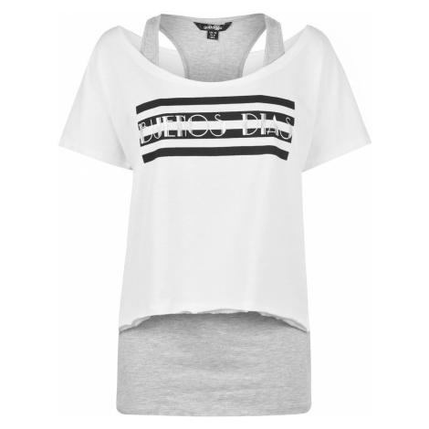 Golddigga Double Layer T Shirt Ladies
