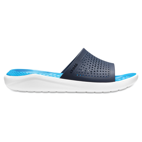 Crocs LiteRide Slide Navy/White