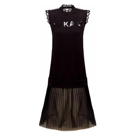 Šaty No Ka'Oi MOXIE TENNIS černá