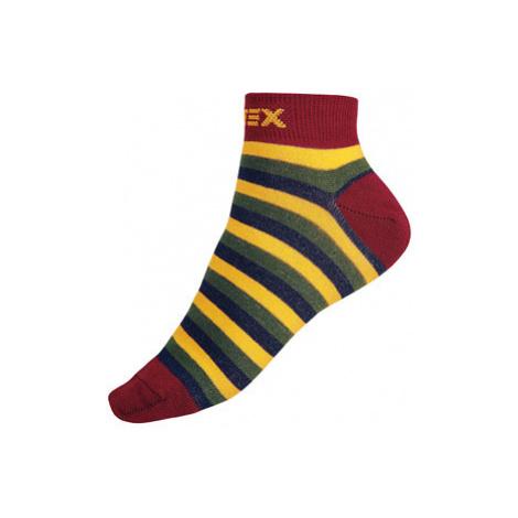 Designové ponožky nízké Litex 9A001 | pruhy