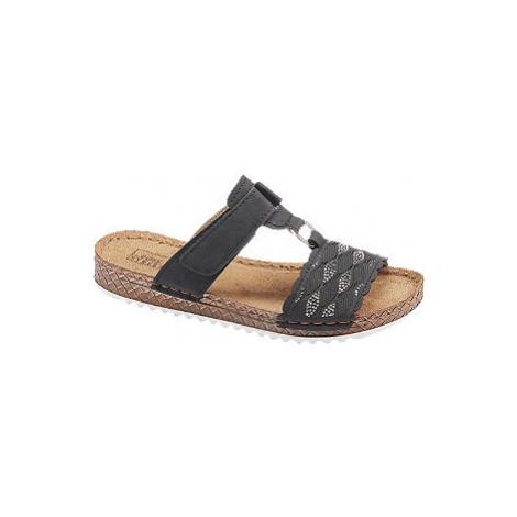 Černé komfortní pantofle Easy Street