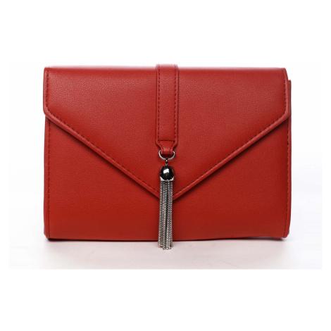 Dámské psaníčko červené - Michelle Moon F850