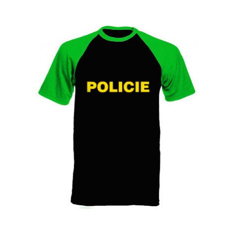 Pánské tričko Baseball Policie