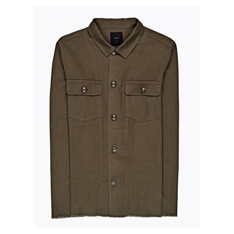 GATE Košile regular fit s neopracovaným lemem