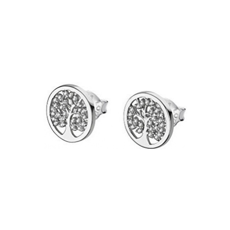 Lotus Silver Designové náušnice ze stříbra Strom života LP1892-4/1