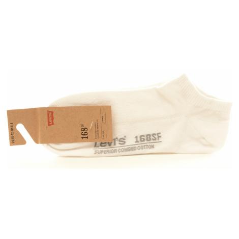 Pánské ponožky Levi´s® low cut bílé