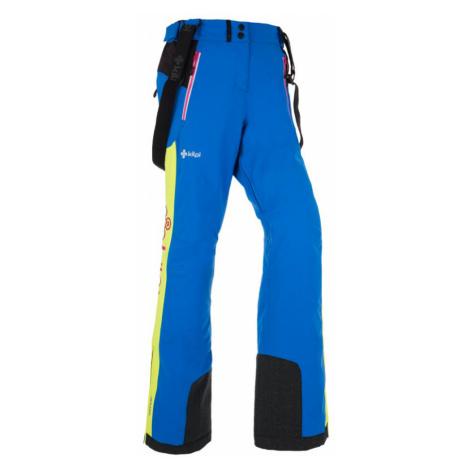 KILPI Dámské lyžařské kalhoty TEAM PANTS-W HL0002KIBLU Modrá