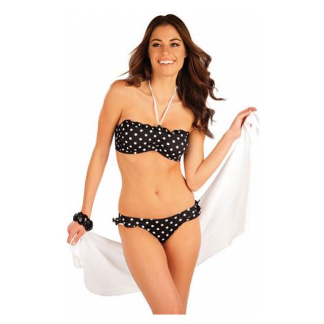 Dámský plážový šátek na zavazování Litex 63553 | tmavě modrá