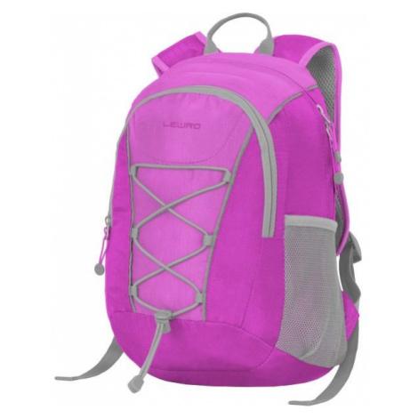 Lewro DINO 12 fialová - Víceúčelový dětský batoh