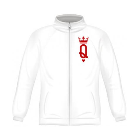 Pánská mikina zip FRUIT Q as queen