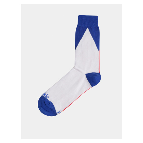 Bílo-modré hokejové ponožky Fusakle Vlajka CZ