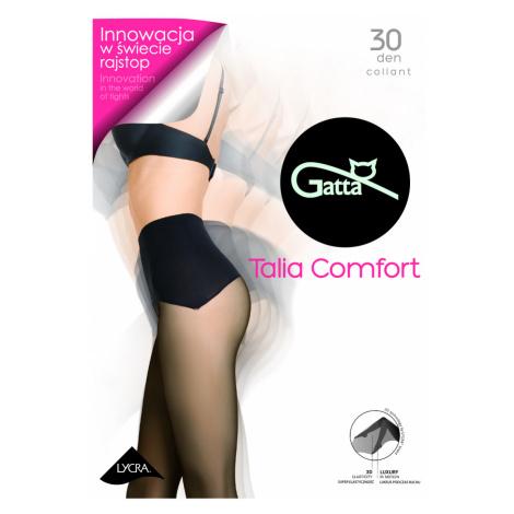 TALIA COMFORT - Dámské bezešvé punčochové kalhoty se seammles lemem Gatta