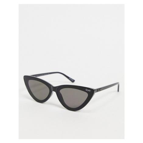Quay Flex womens cat eye sunglasses in black Quay Australia