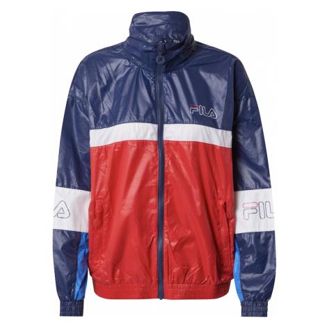 FILA Sportovní bunda 'JADA' tmavě modrá / bílá / červená / nebeská modř