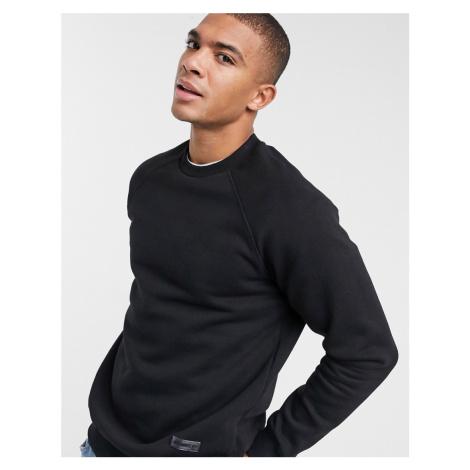 Bershka join life sweatshirt in black