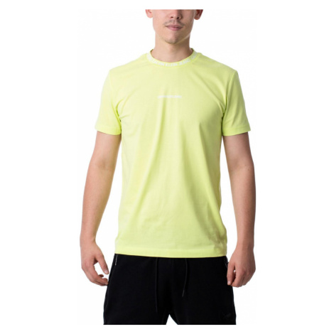 Calvin Klein pánské neonově žluté tričko
