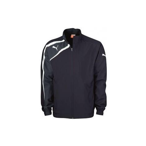 Puma SPIRIT WOVEN JACKET JR modrá - Dětská sportovní bunda