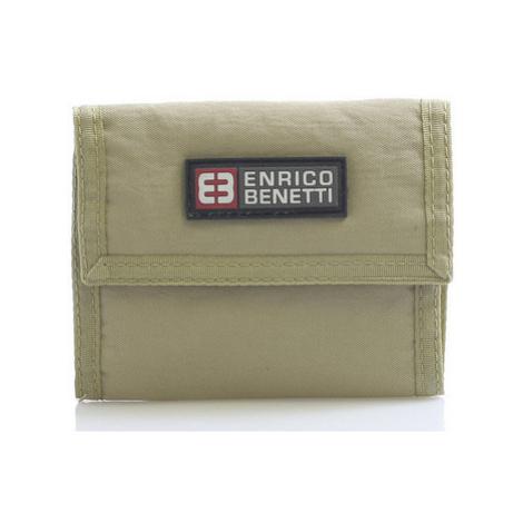 Enrico Benetti Písková látková peněženka 14607 Hnědá