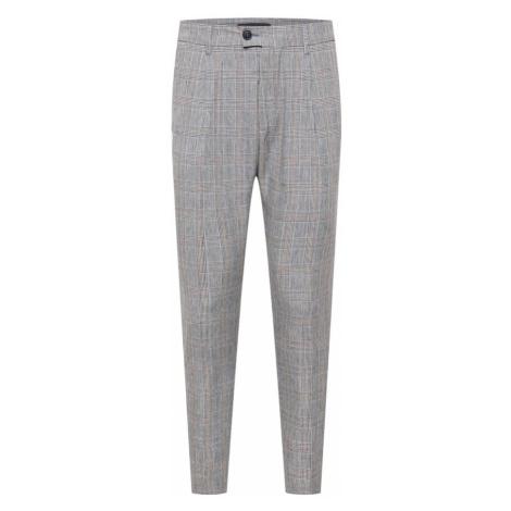 DRYKORN Kalhoty se sklady v pase 'CARE' šedý melír / černá / růžová / světlemodrá