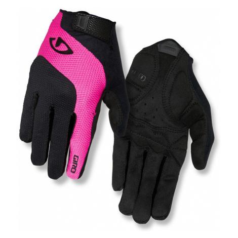 Dámské cyklistické rukavice GIRO Tessa LF černo-růžové