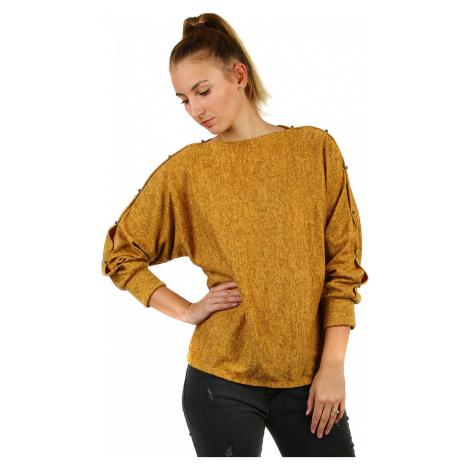 Dámské mikinové tričko melírované