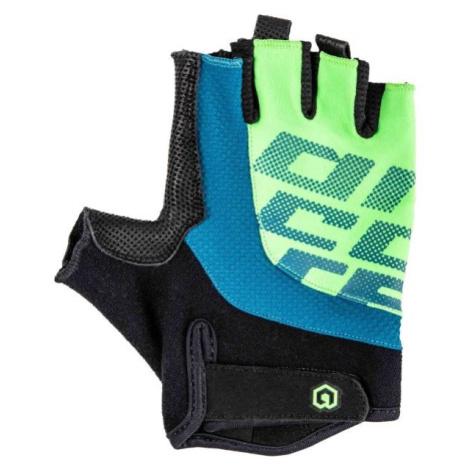 Arcore MUSKOX černá - Krátkoprsté cyklistické rukavice