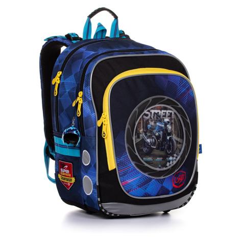 Motorkářský školní batoh Topgal ENDY 20013 B