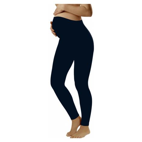 Těhotenské legíny Leggins long blue Italian Fashion