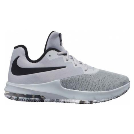 Nike AIR MAX INFURIATE III LOW šedá - Pánská basketbalová obuv