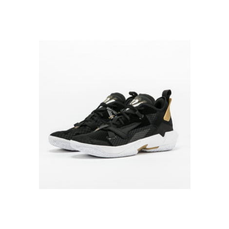 Jordan Why Not Zero.4 black / white - metallic gold