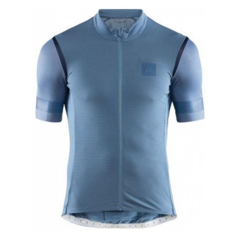 Craft HALE GLOW modrá M - Pánský cyklistický dres