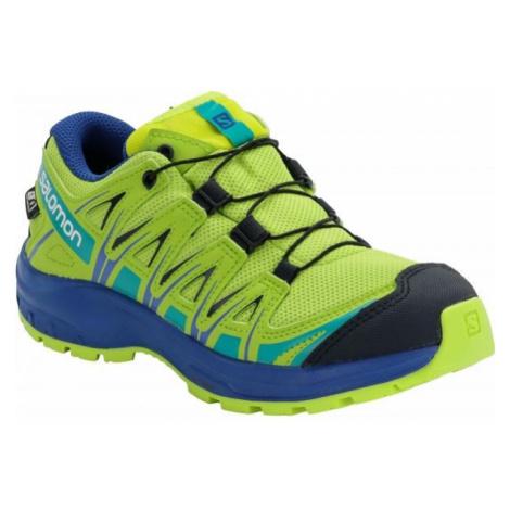 Salomon XA PRO 3D CSWP J žlutá - Dětská běžecká obuv