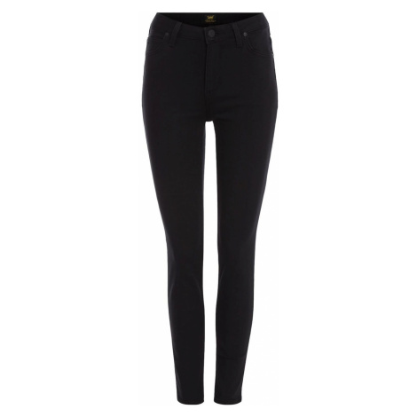 Lee Jeans Scarlett high waisted jeans in black rinse