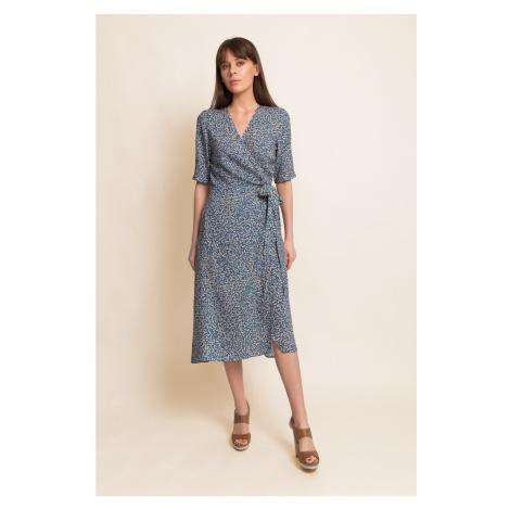 Benedict Harper Woman's Dress Natalie Floral/Blue